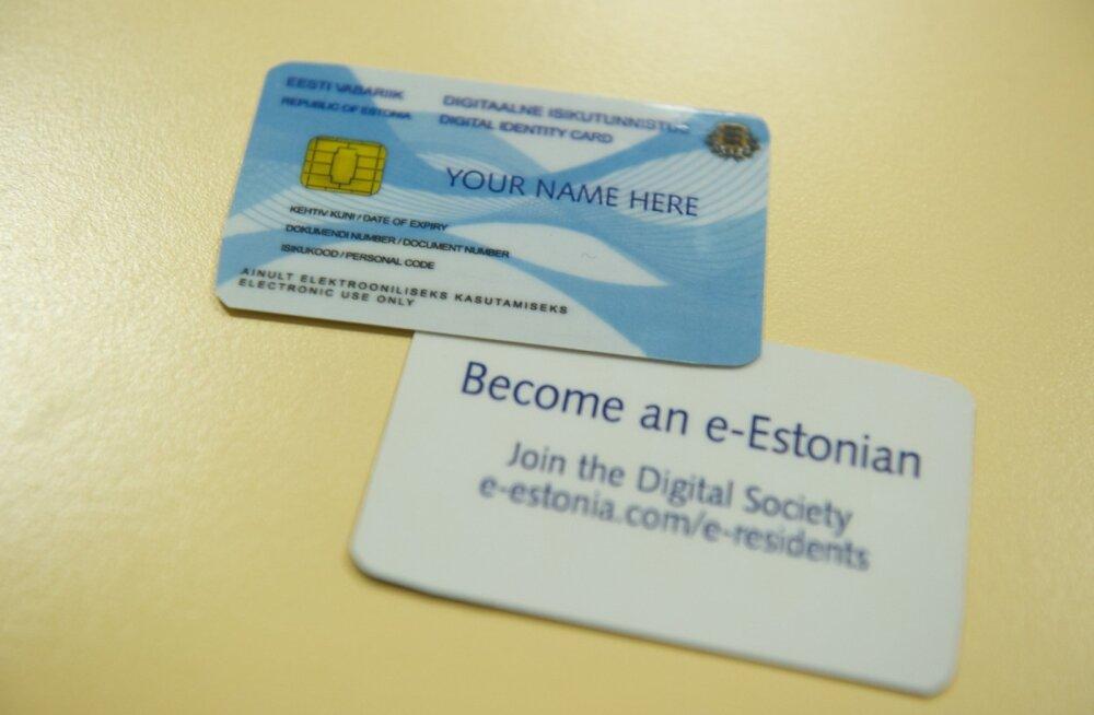 E-residentsus on Eesti riigile oluline müügiartikkel.