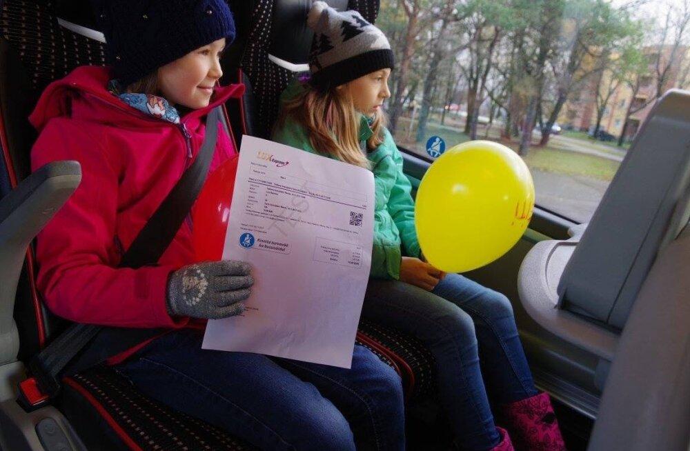 Ученики крупнейшей школы Эстонии стали посланниками кампании безопасной езды в автобусе