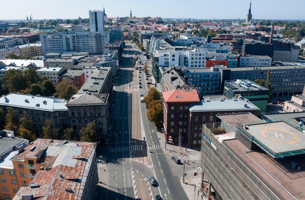 Narva maantee droonifotod
