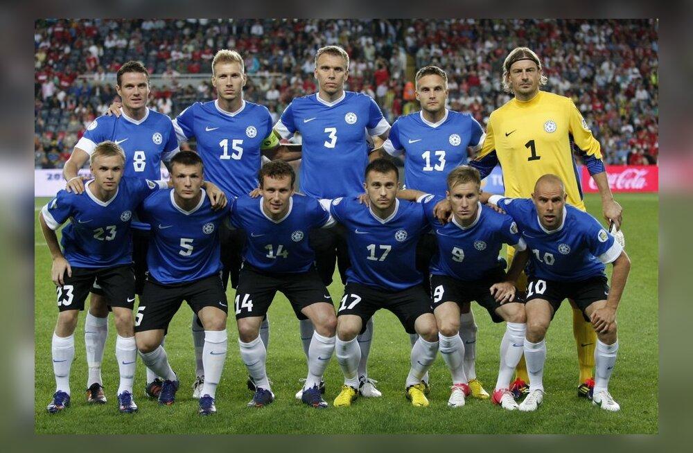Eesti jalgpallikoondis MM-valikmängus Türgiga