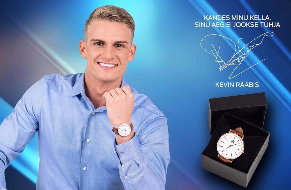 Kevin Rääbise kellad