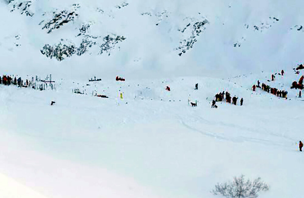 Päästeoperatsioon Prantsuse Alpides