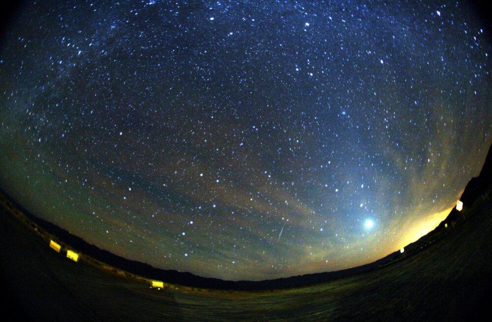 Selle nädalavahetuse öödel võib näha eredat orioniidide meteoorivoolu