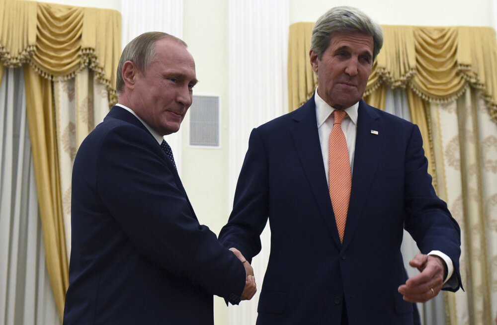 В Москве состоялась встреча Владимира Путина с Джоном Керри