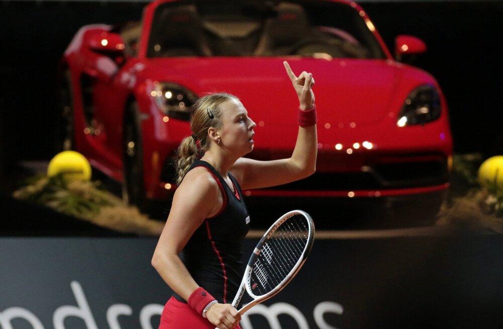 Tenniseekspert peab Kontaveiti Stuttgartis üheks soosikuks