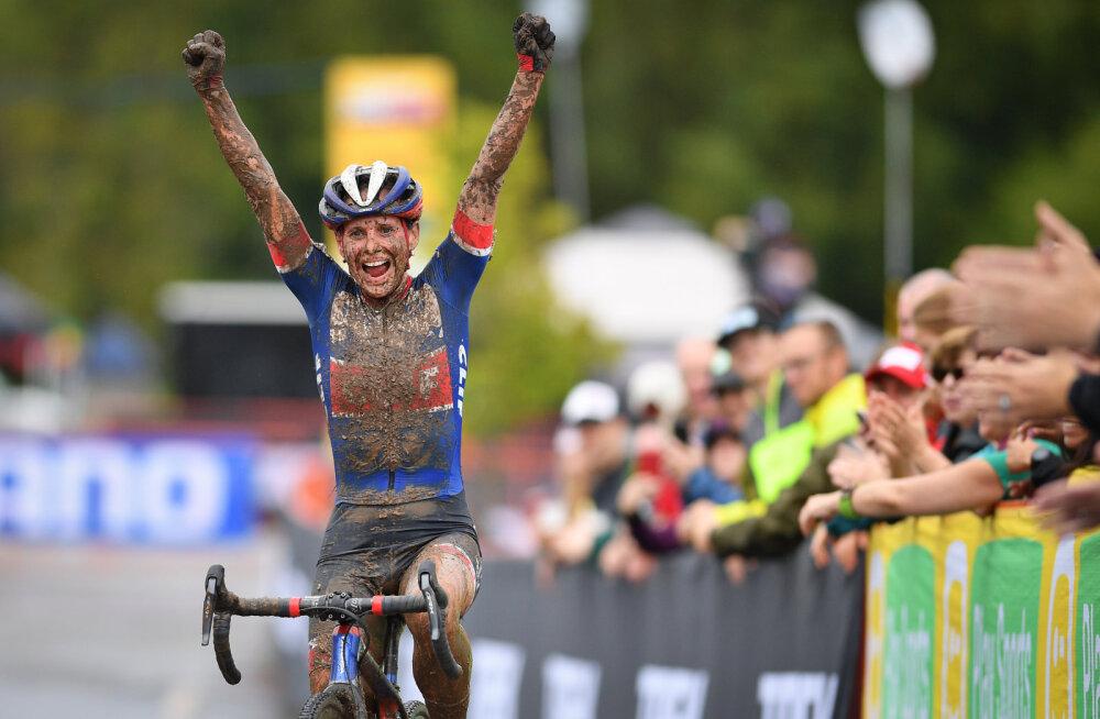 Kristina Šmigun-Vähi kunagine konkurent tõusis cyclo-crossi MK-sarja üldliidriks