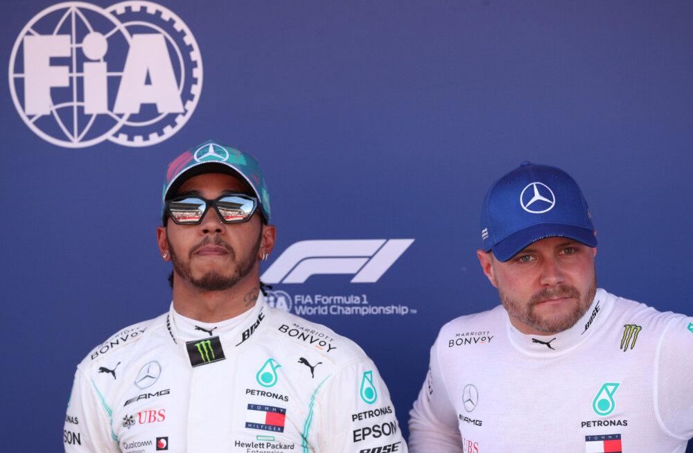 Valtteri Bottas: MM-tiitli võitmiseks pean igal võimalusel Lewis Hamiltonist parem olema