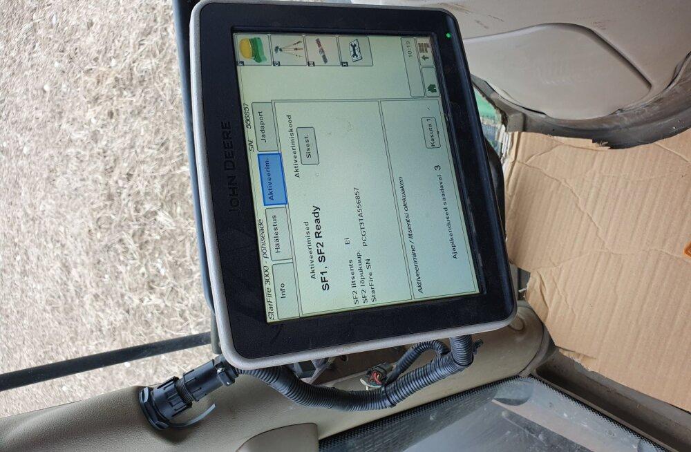 Põllumasinate omanikud peavad GPS-seadmete varguste tõttu olema tähelepanelikud