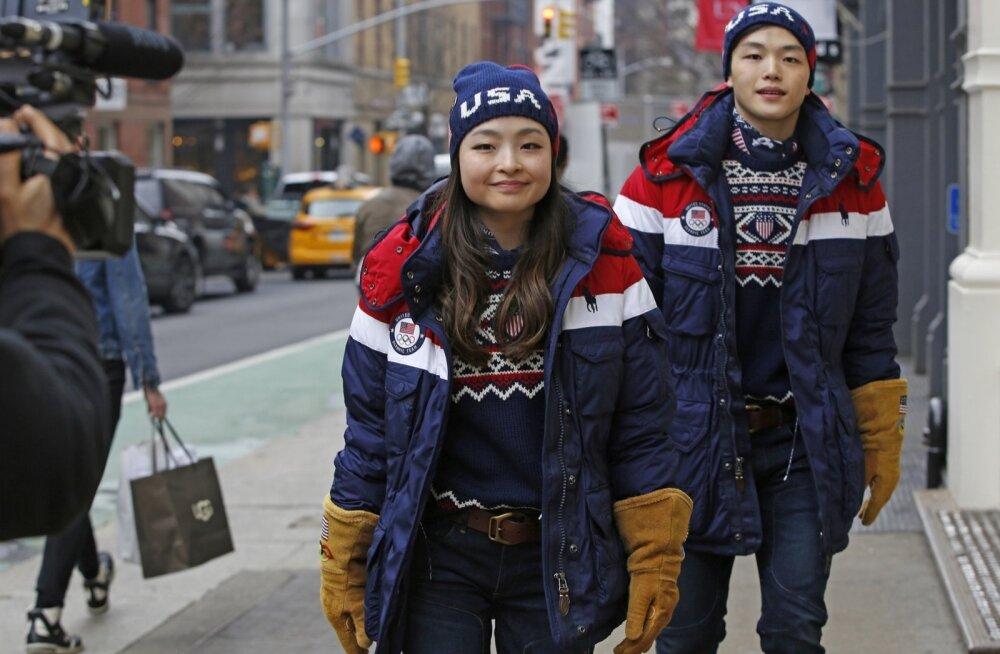 USA olümpiakoondise rõivad