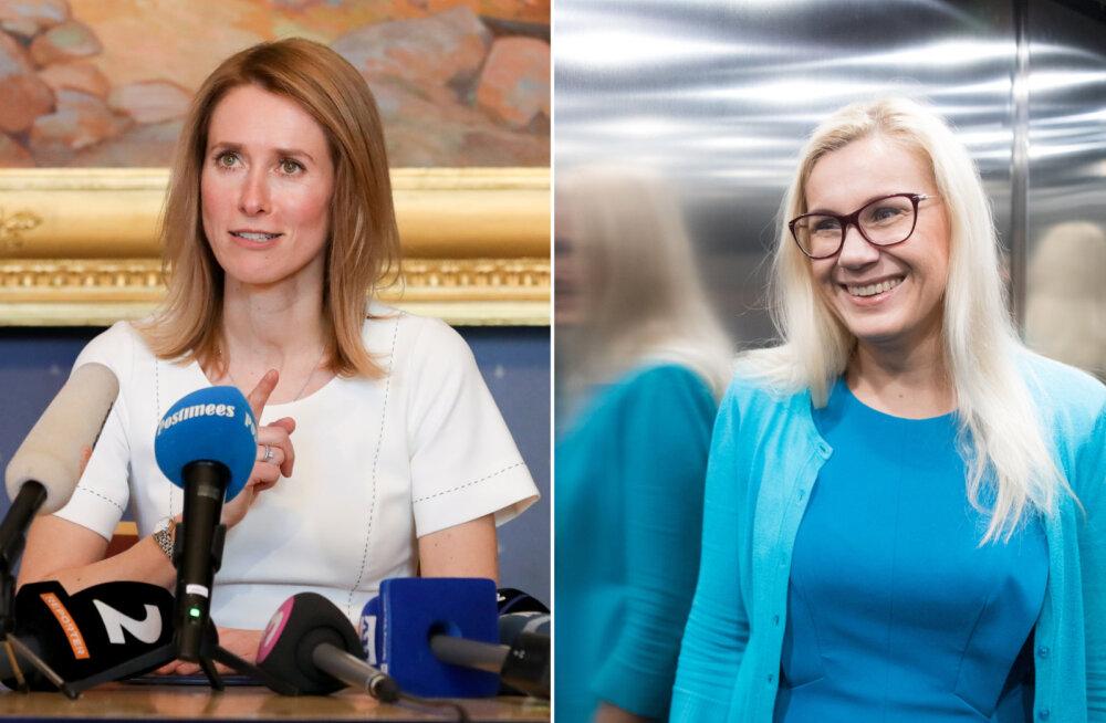 Kaja Kallas: Kadri Simsoni reisid tõstatavad küsimusi ka Euroopas