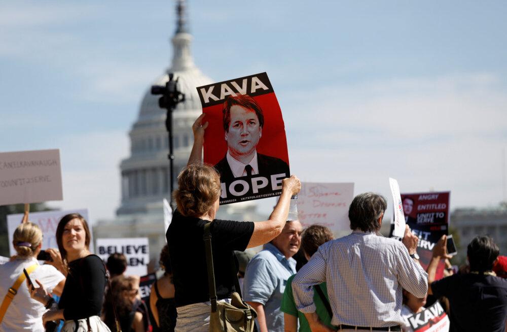 Ahistamissüüdistusega maadlevast konservatiivsest Brett Kavanaugh'st saab USA ülemkohtunik