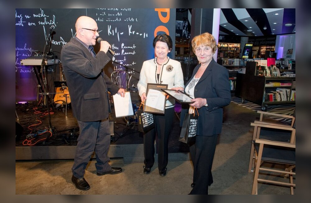 FOTOD: Apollo tunnustas parimaid eesti autoreid