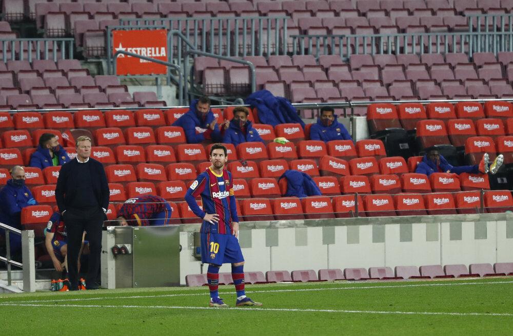 Barcelona mured jätkuvad, Luis Suarez vedas Atletico võiduni