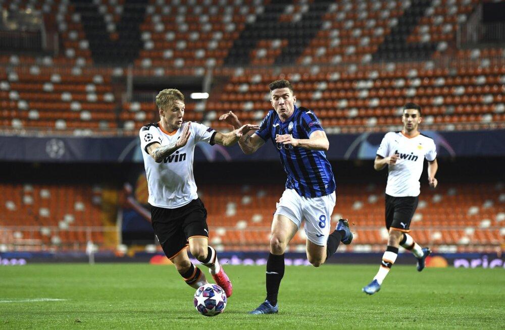 Valencia ja Atalanta mäng