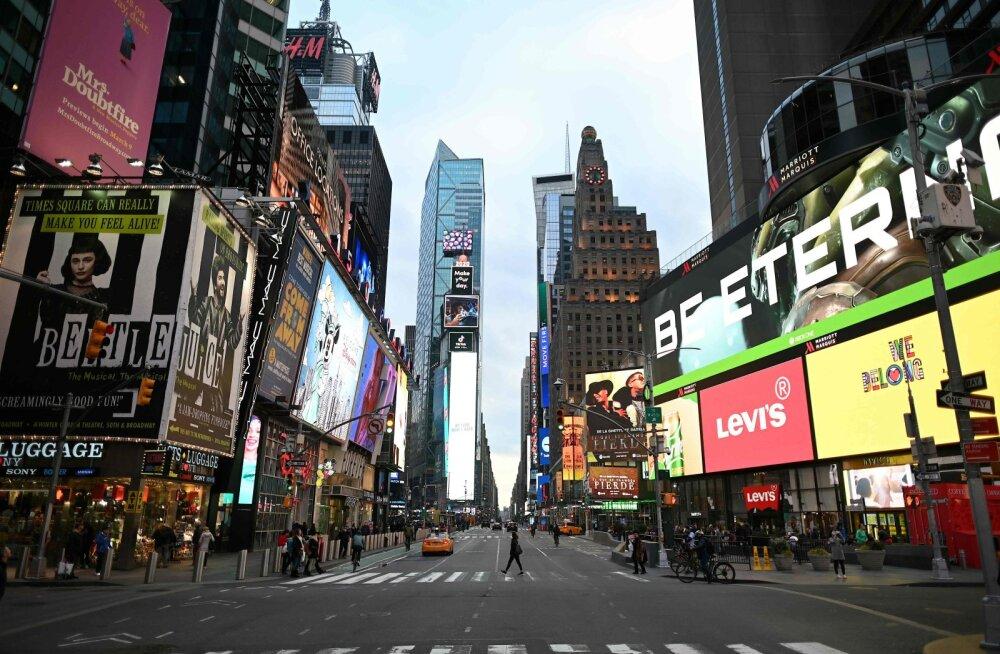 Koroonaviirus on jõudnud USA kõikidesse osariikidesse, peagi võib sulguda New York