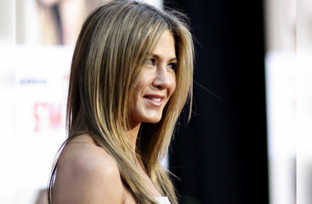 Jennifer Aniston on emaks saamiseks valmis