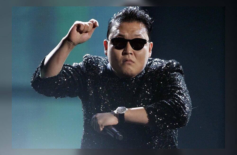 """""""Gangnam Style!"""" Korea hobutants kerkis YouTube'i ajaloo enimvaadatud klipiks"""