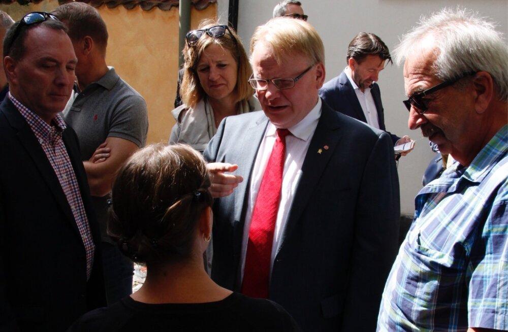 Rootsi kaitseminister Peter Hultqvist kinnitas Sirle Söödile, et Nord Stream 2 kontsern ei ole Rootsi valitsusele veel uue gaasijuhtme rajamise kohta taotlust esitanud.
