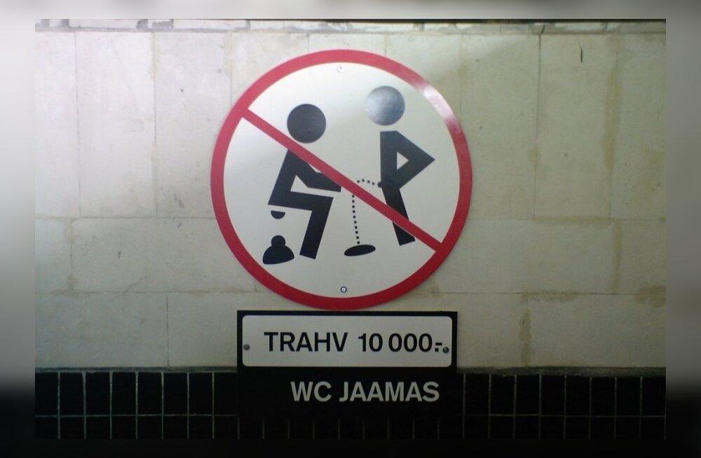 Вокзальный туалет