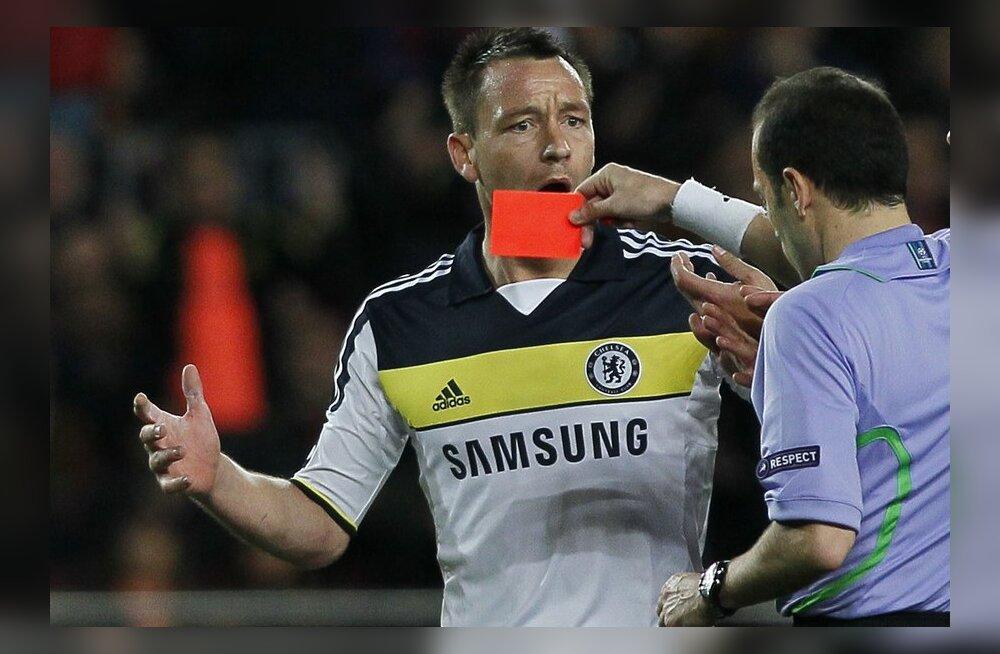 Chelsea vanameister Terry peab läbirääkimisi Hispaania klubiga
