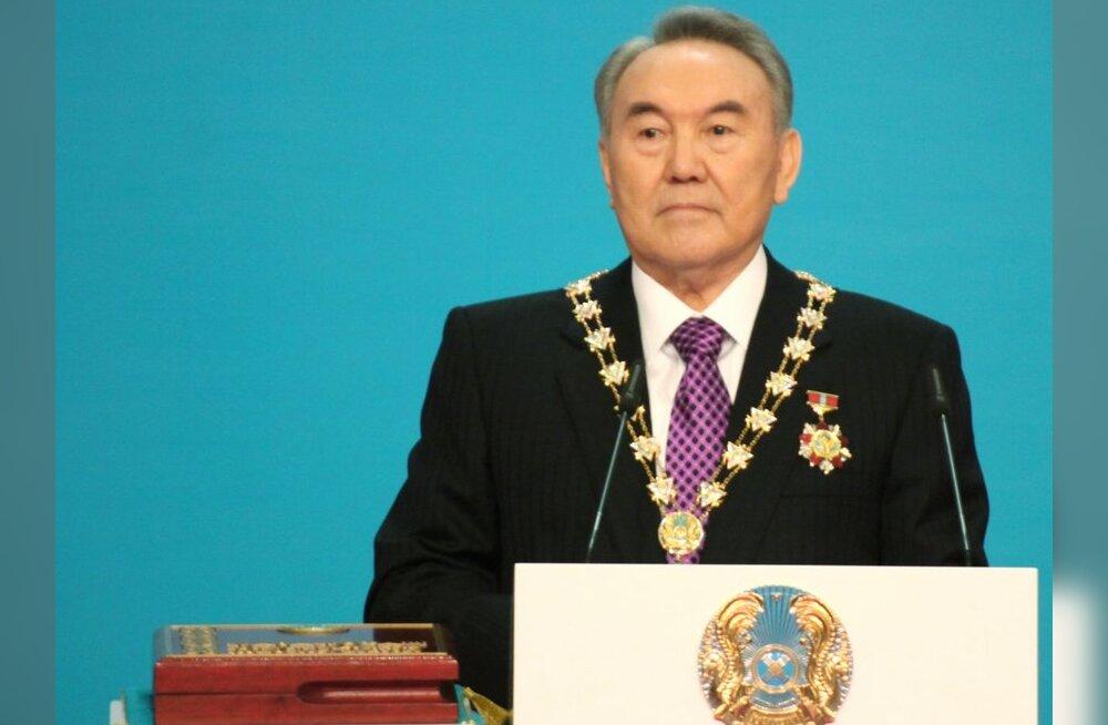 """Kirgiisid esitasid Kasahstani """"Päikese"""" tänuks odava gaasi eest Nobeli rahupreemiale"""