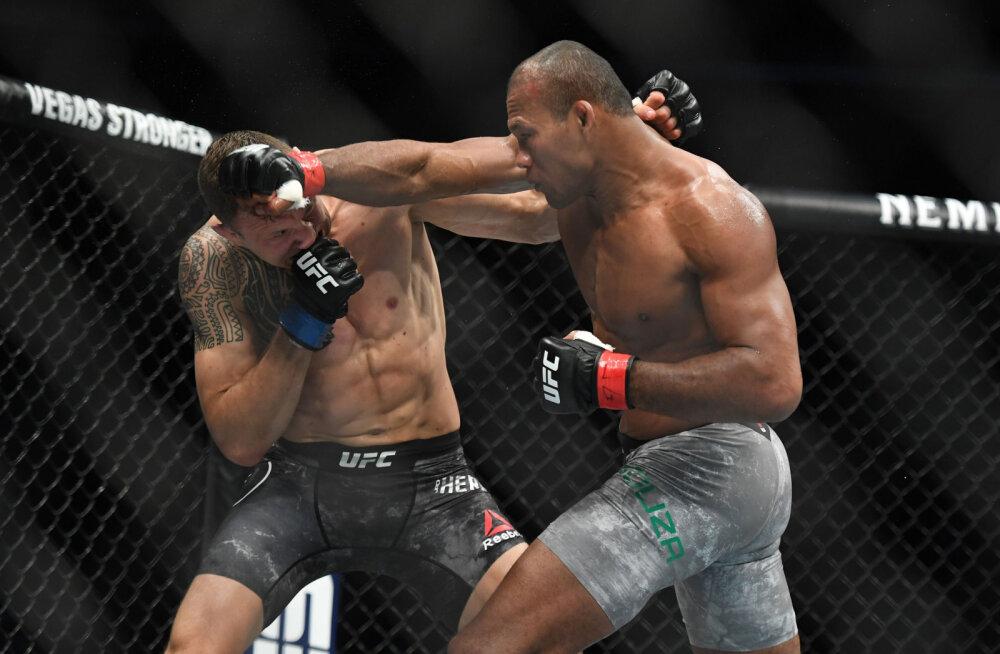 Täna ringi astuma pidanud UFC vabavõitlejal avastati koroonaviirus