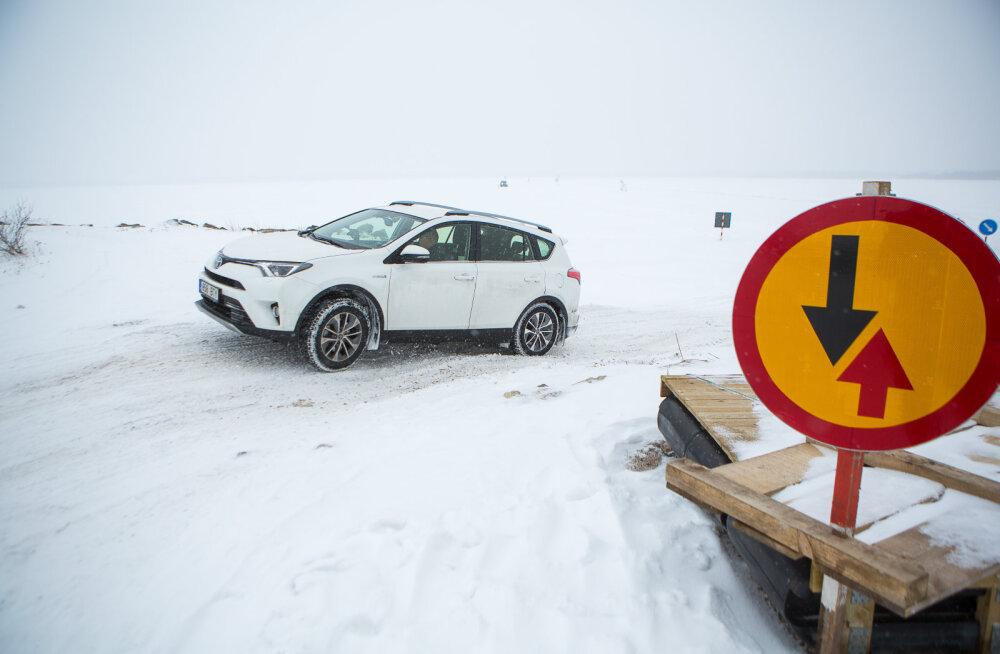 MEIE MAA | Saaremaa ja Hiiumaa vaheline jäätee sai avatud