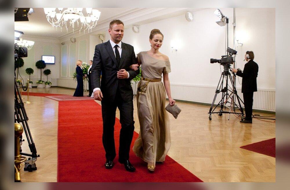 MIrtel Pohla, Veiko Õunpuu, Presidendi vastuvõtt Estonias
