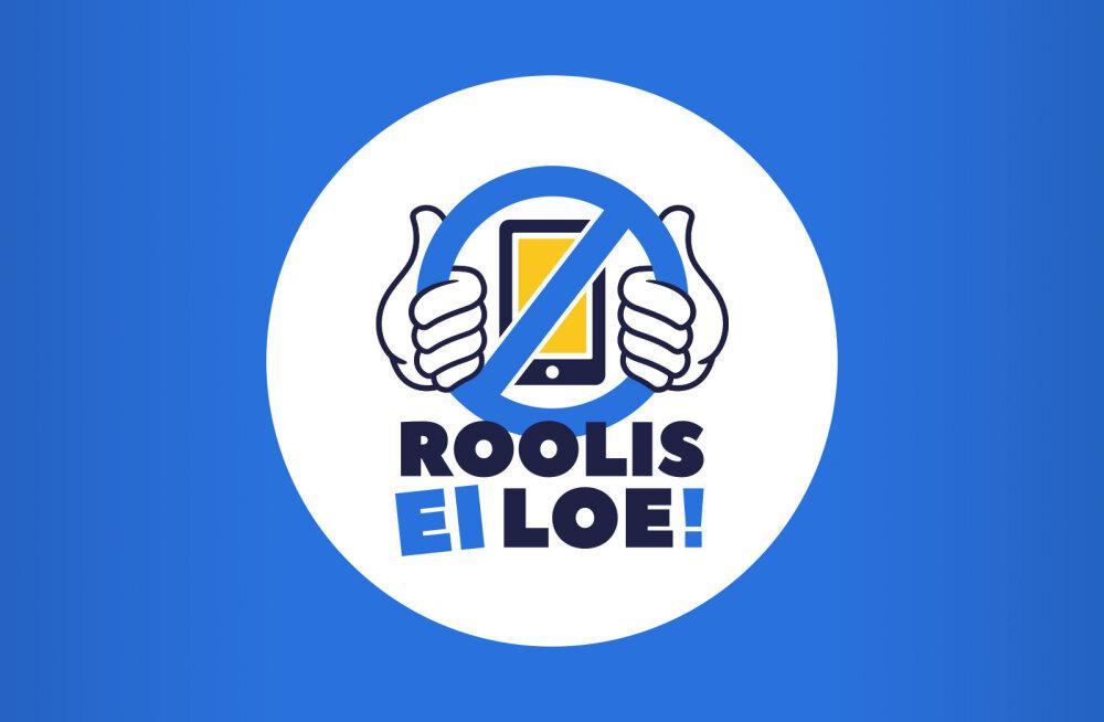 """Delfi sotsiaalkampaania ja üleskutse autojuhtidele: """"Roolis ei loe!"""""""