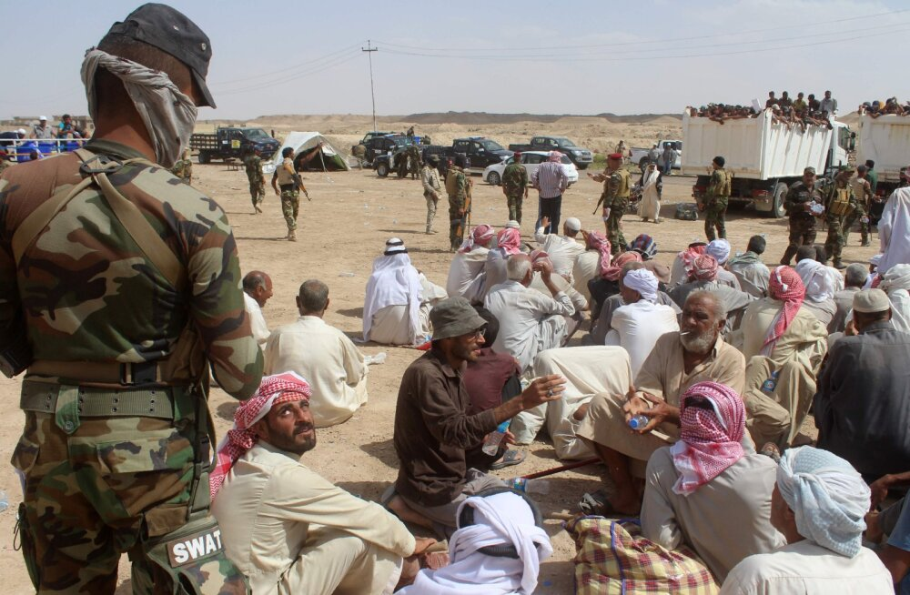 Anbari kuberneri väitel on šiiidi sõjasalgad Fallujah´ lähedal korraldanud massimõrvu
