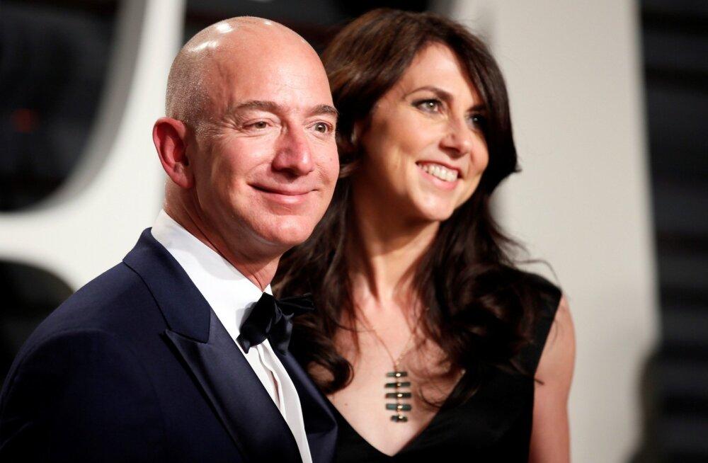 Jeff ja MacKenzie Bezos