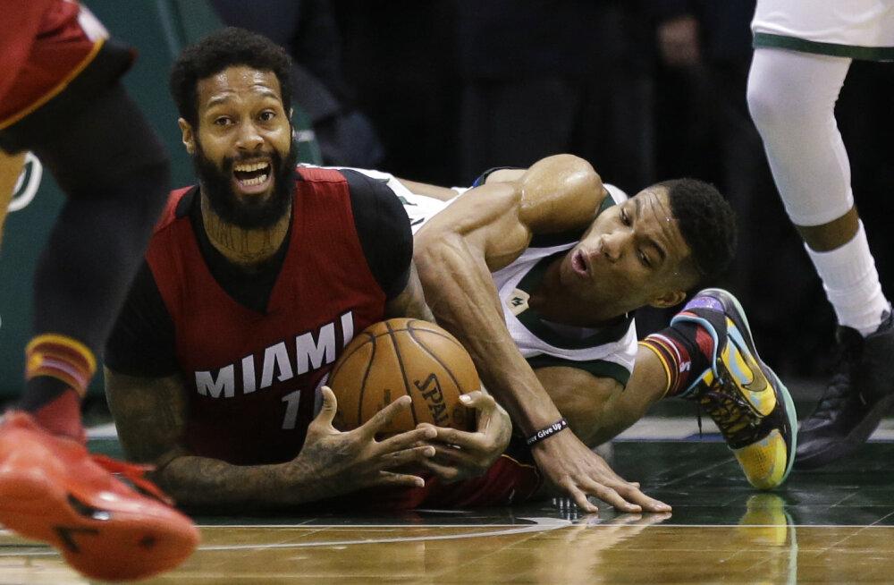 VIDEO: Võimsas hoos Miami Heati võiduseeria aina pikeneb