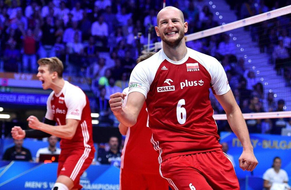 DELFI ROTTERDAMIS | Eesti võrkpallikoondise esimest vastast Poolat tabas ränk hoop