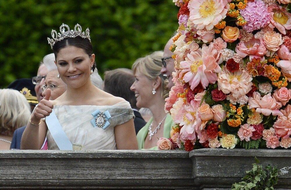 Kroonprintsess Victoria venna, prints Carl Philipi pulmas