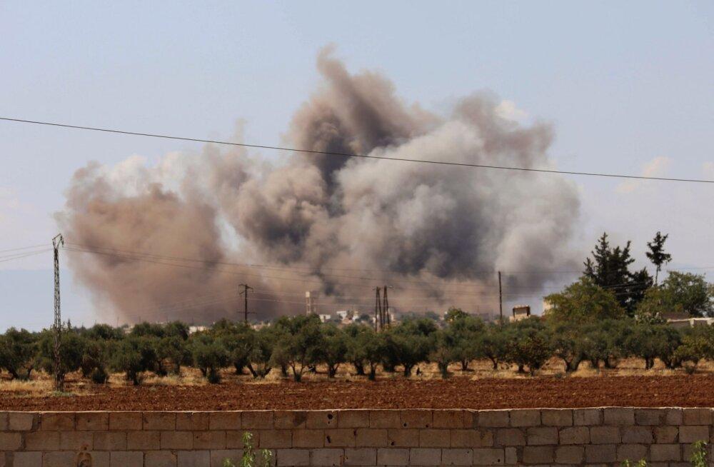 """Venemaa hakkas pärast """"rahukohtumist"""" Süüriat lauspommitama"""