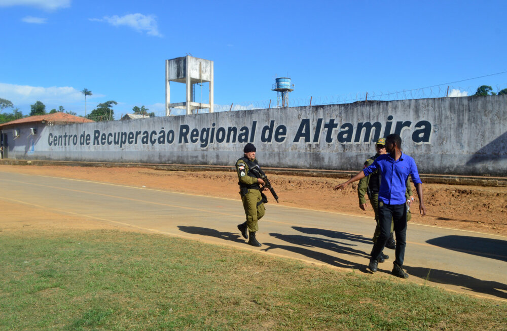 Tüli Brasiilia vangide vahel nõudis ligi 60 kinnipeetava elu