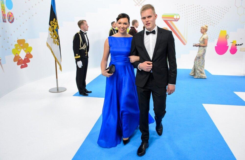 Ott Tänak ja Janika Tänak
