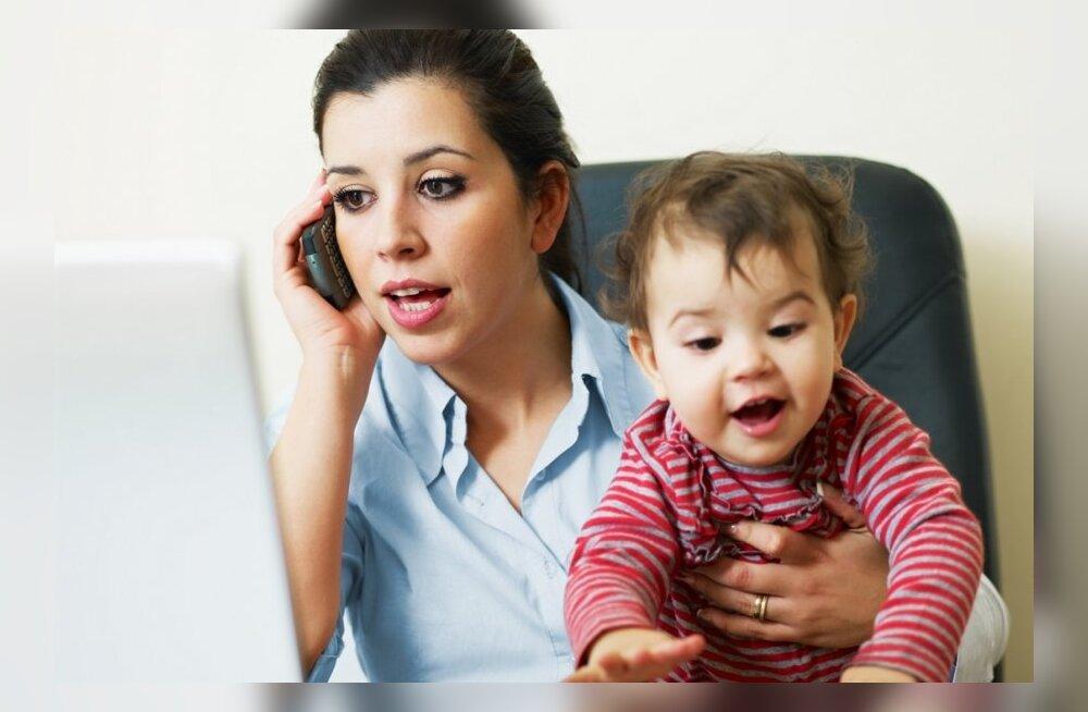 13 põhjust, miks väikelaste emad on parimad töötajad