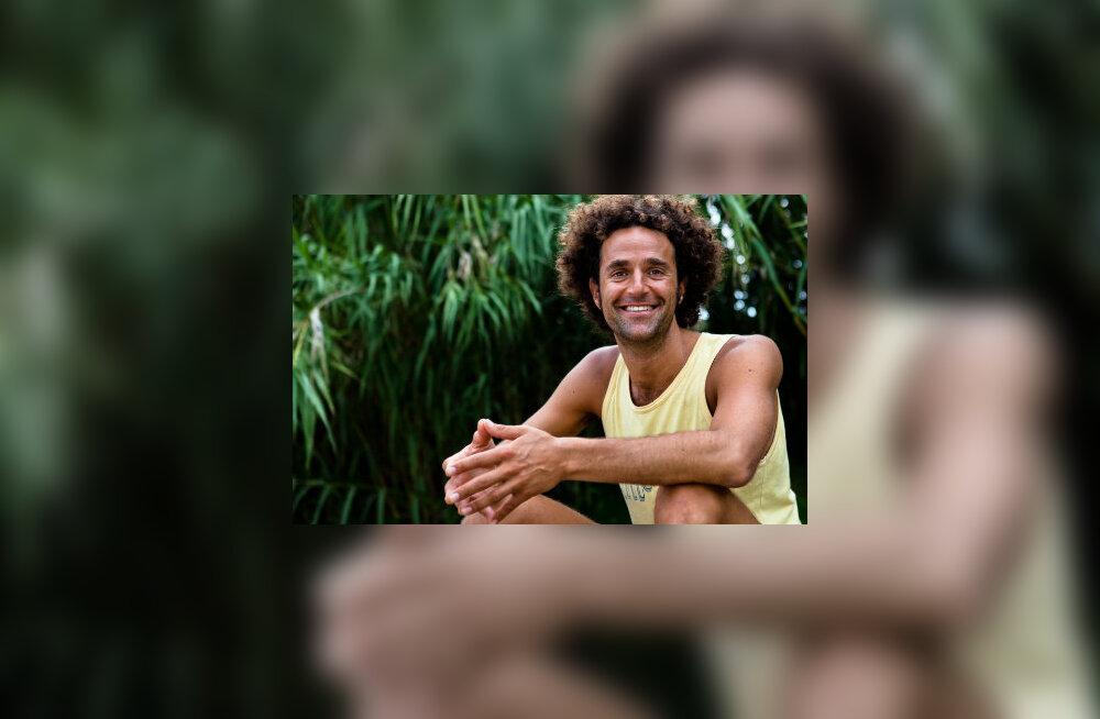 David Lurey on sellel nädalavahetusel, 20.-21. juulil Haapsalus toimuva Joogafestivali peaesineja