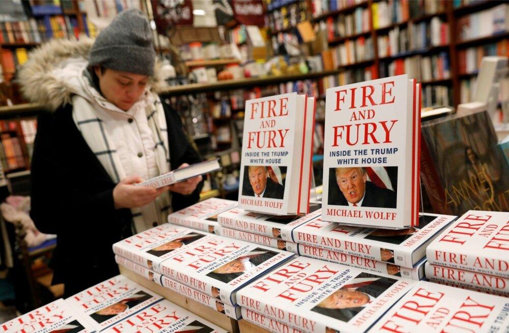 """""""Tuli ja raev"""" osutus suureks hitiks ja tegi autor Michael Wolffist superstaari. Ent Trumpi ametiaja algusest rääkivaid raamatuid tuleb peagi veel."""