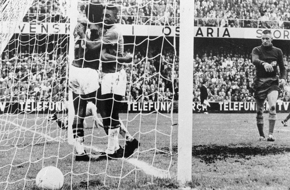 Pele on löönud 1958. aasta MMil värava
