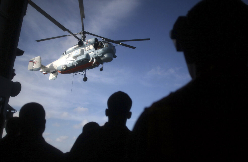 Venemaal kukkus alla helikopter, piloot hukkus