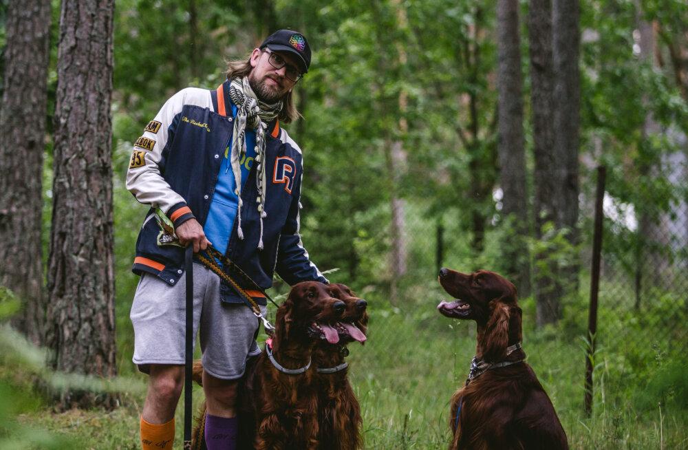 Märt Agu: koerad on minu perekond