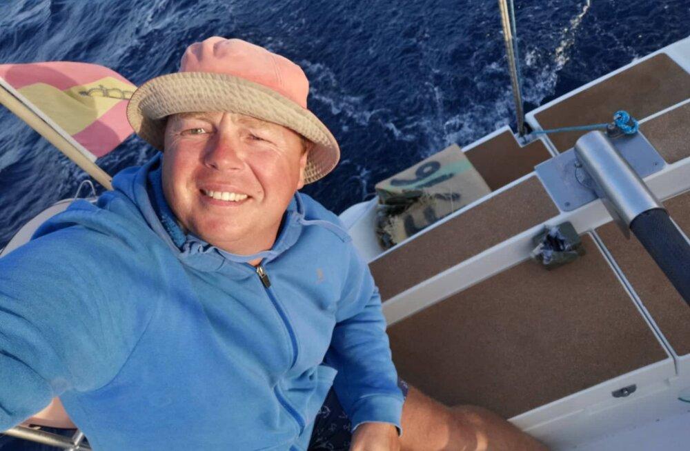 Eesti kapten Kristo Kööp leidis Tenerife lähistelt hašišipakid.