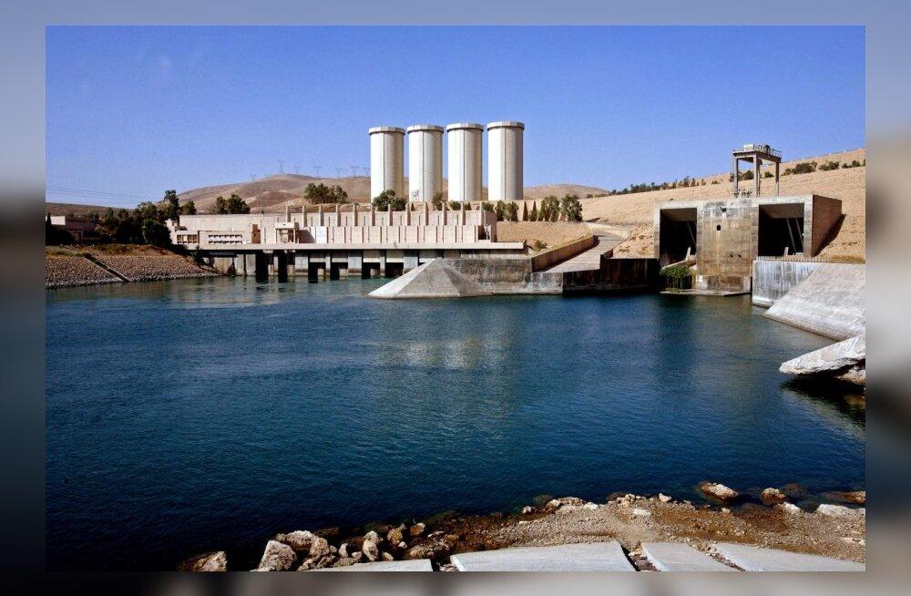 Islamiriigi võitlejad hõivasid Iraagi suurima tammi Tigrise jõel