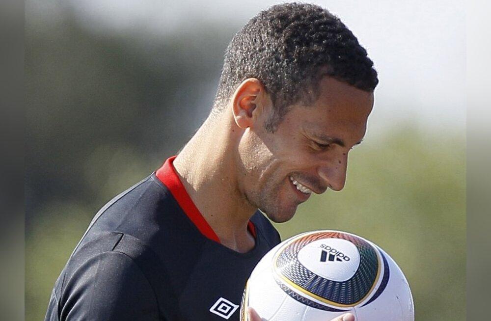 Rio Ferdinand jäi Inglismaa koondise kaptenipaelast ilma