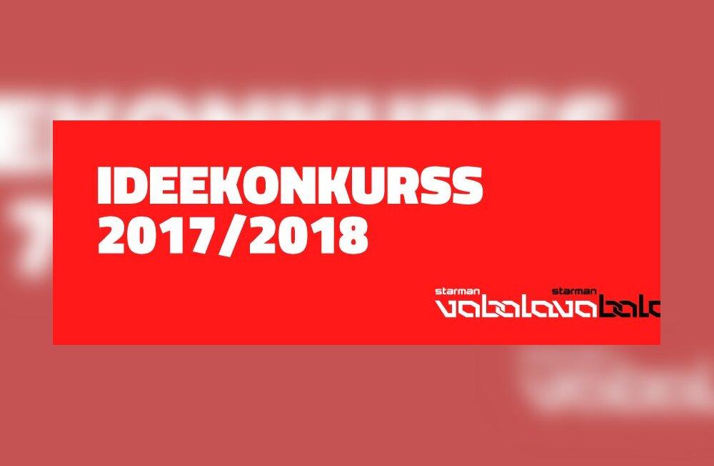 Tule ja osale — Vaba Lava ideekonkurss 2017/2018