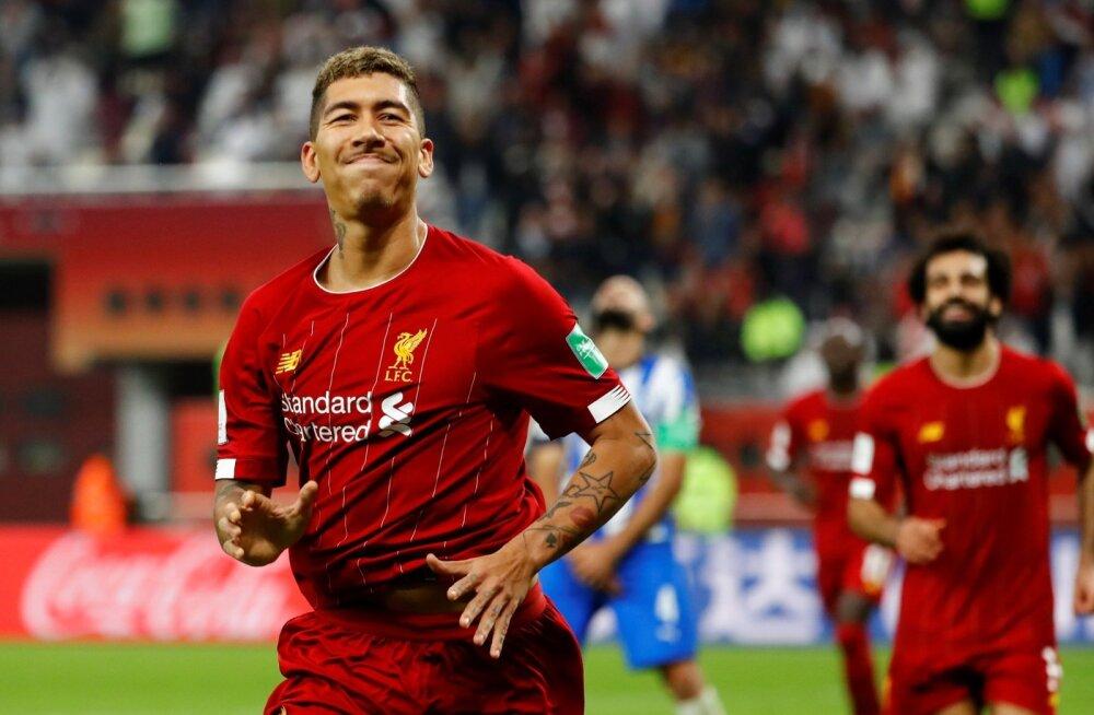 Roberto Firmino värav viis Liverpooli klubide MM-il finaali.