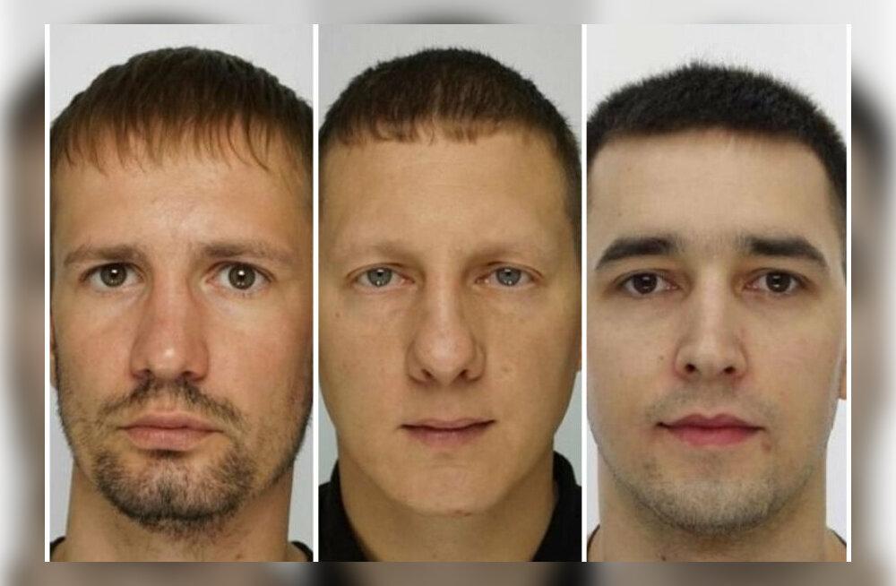 Vasakult esimene mees, Roman Gluhovtšenko, on veel tagaotsitav.