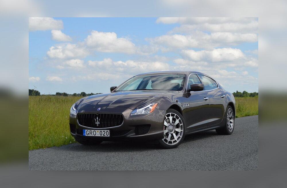 PROOVISÕIT: Maserati Quattroporte - Kiirus, olen kiirus...
